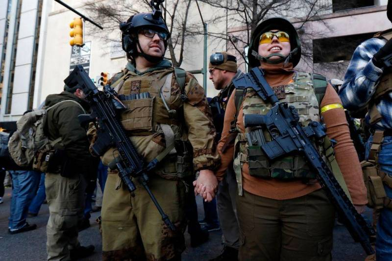 Протесты в США – американцы не желают разоружаться