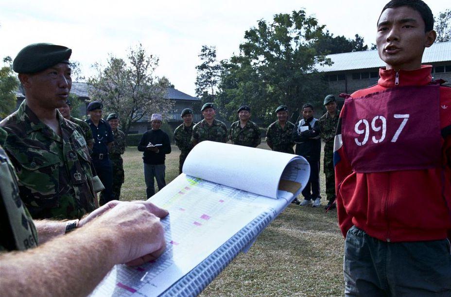 Отбор в Покхаре - Кто такие гуркхи | Военно-исторический портал Warspot.ru