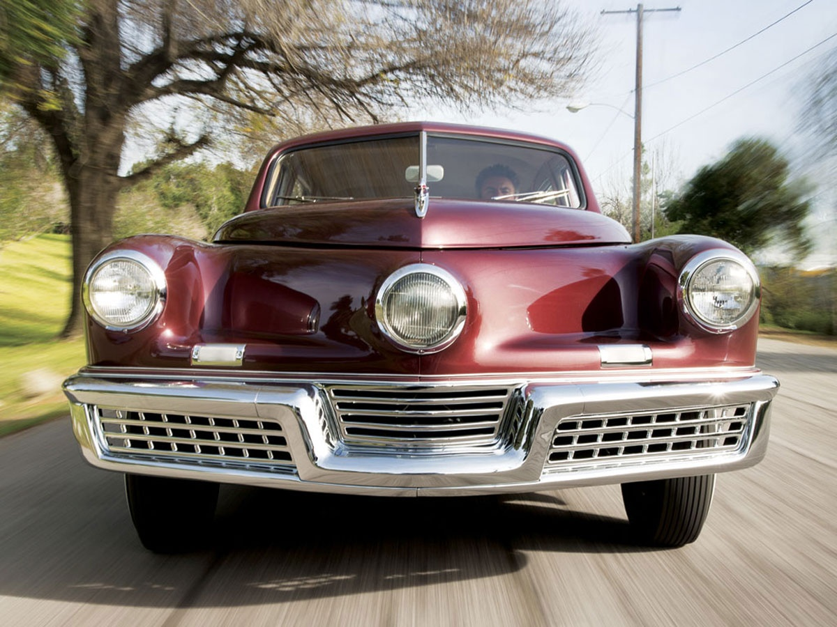 Tucker 48, one of the most advanced, early post-war automobiles