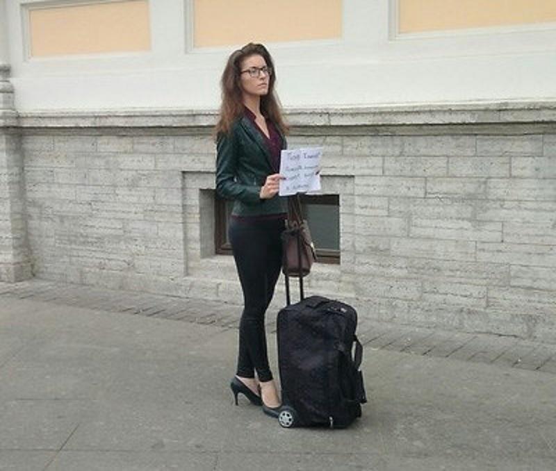 Модные нищие. Сколько зарабатывают попрошайки в центре Москвы?