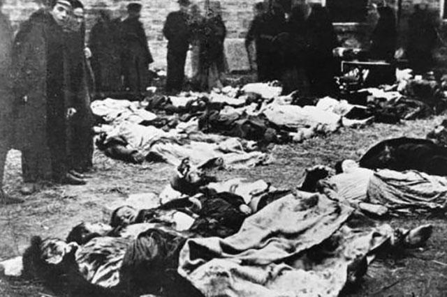 Жертвы погромов в Кишинёве. Источник: Public Domain