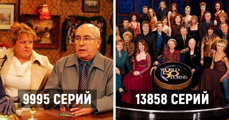 Самые продолжительные сериалов в мире