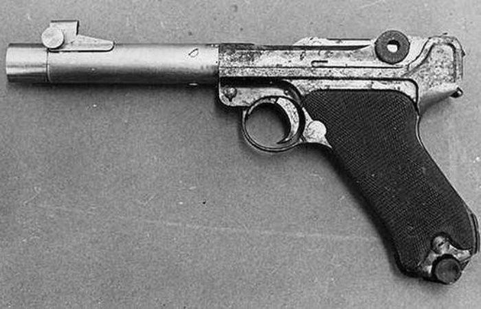 История создания пистолета с семью крошечными пулями в стволе