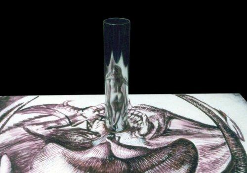 Анаморфные рисунки Автара Сингха