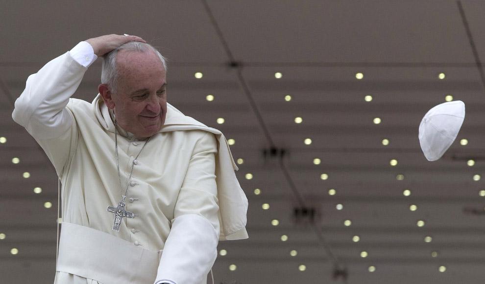 Франциск в Ватикане