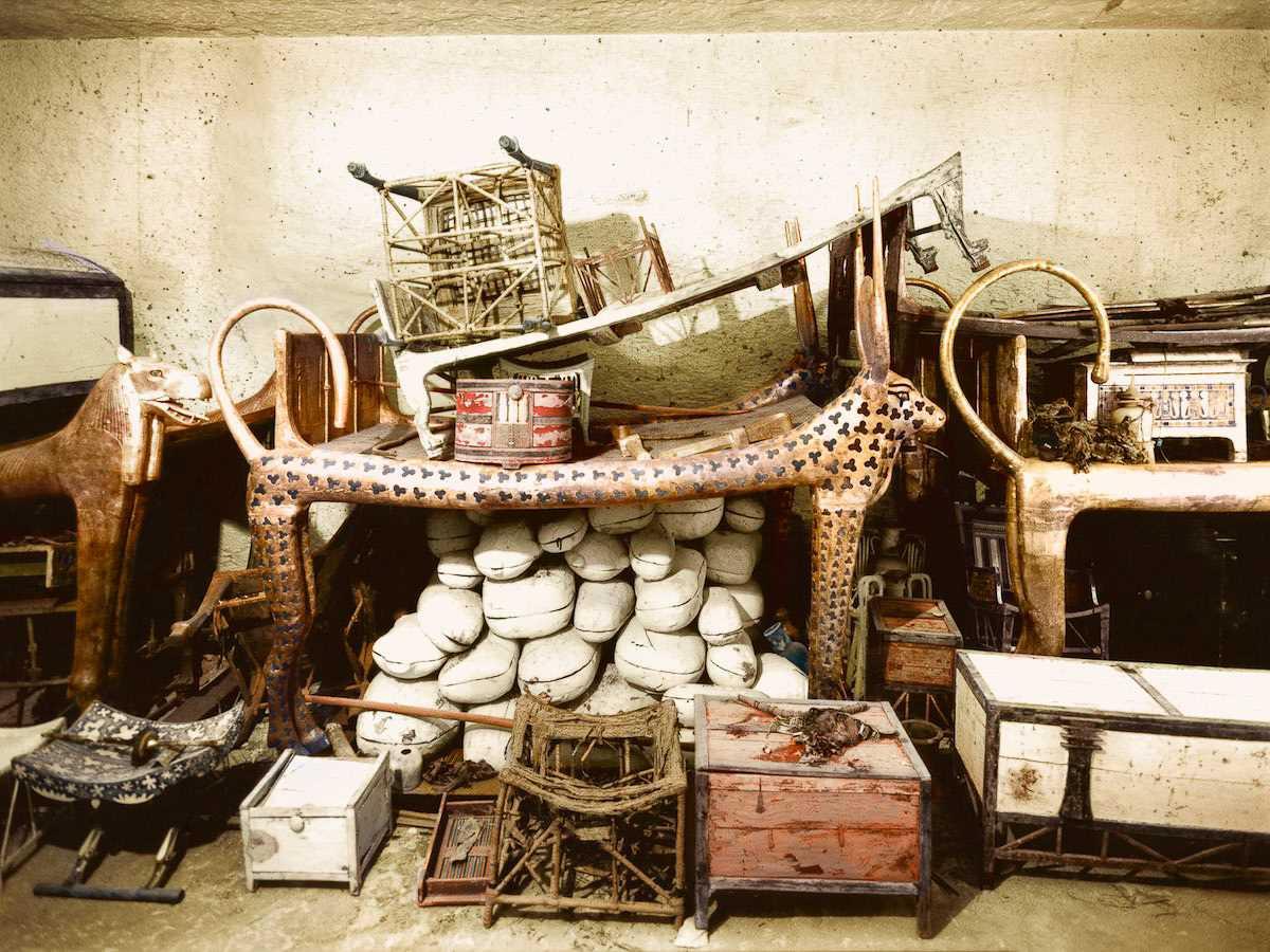 1922 год: Открытие гробницы Тутанхамона