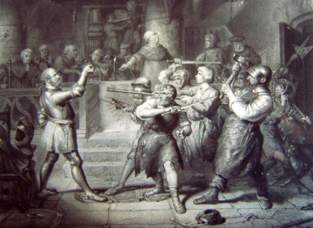 Механический протез руки немецкого рыцаря Геца фон Берлихингена, жившего в XVI веке