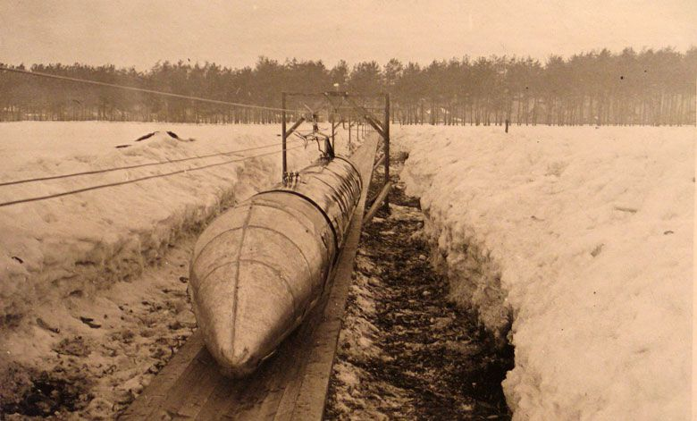 Проект ШЭЛТ: шароэлектролотковый транспорт Н.Г. Ярмольчука