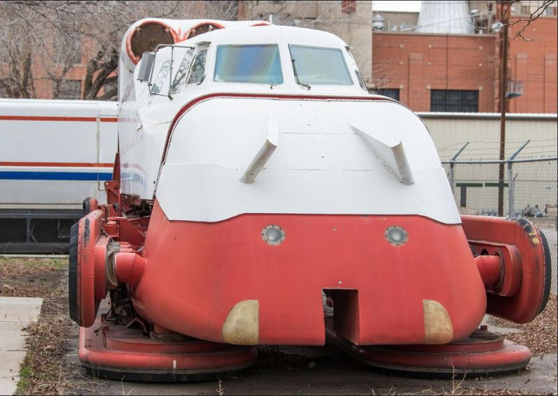 Проект аэровагона на воздушной подушке Grumman TLRV