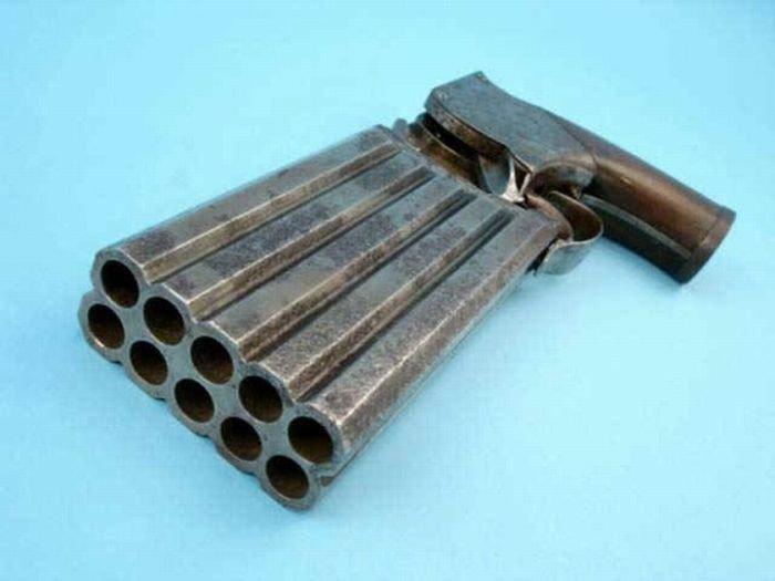 Оружие для тех, кто любит стрелять без перезарядки (18 фото)