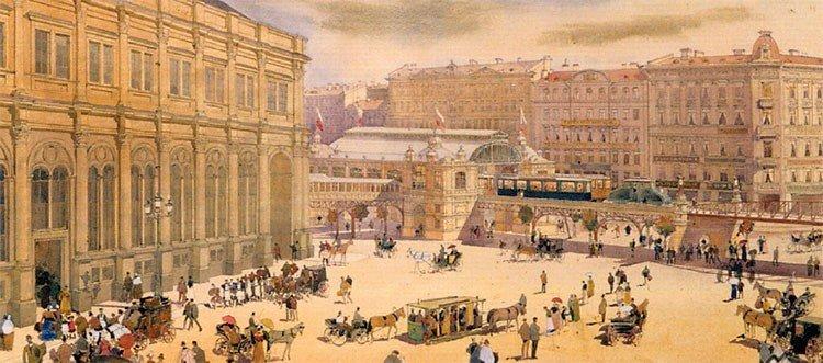 Станция у Московского вокзала