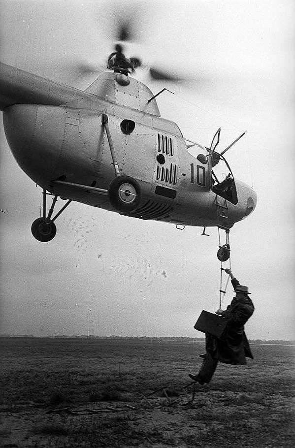 История первого серийного советского вертолёта Ми-1