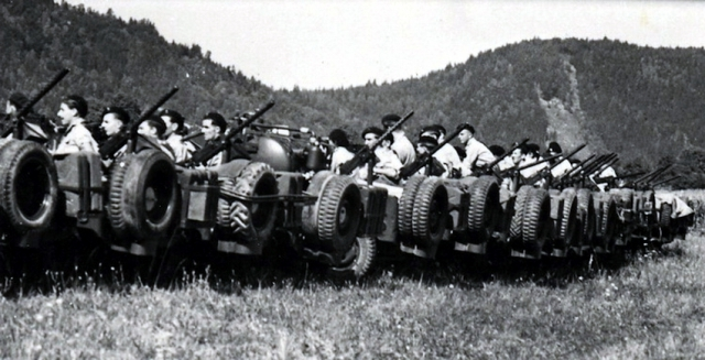 Частная армия Попского