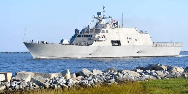 Литоральный боевой корабль: самая спорная программа флота США