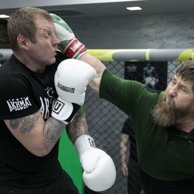 Александр Емельяненко и Рамзан Кадыров
