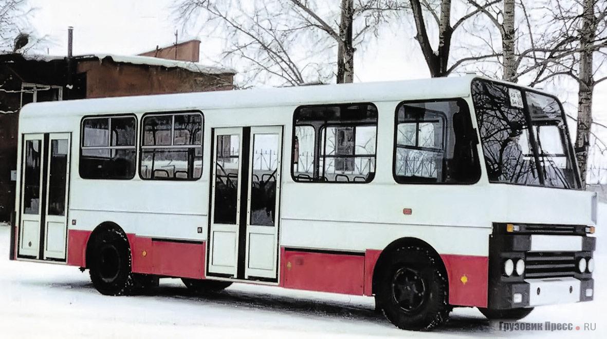 Всего до 1996 г. на пермском ТОО «Агрореммаш» собрано 30 автобусов «Альтерна-4216»