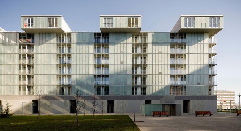 Европейские дома для малоимущих, которые выглядят как московские элитки