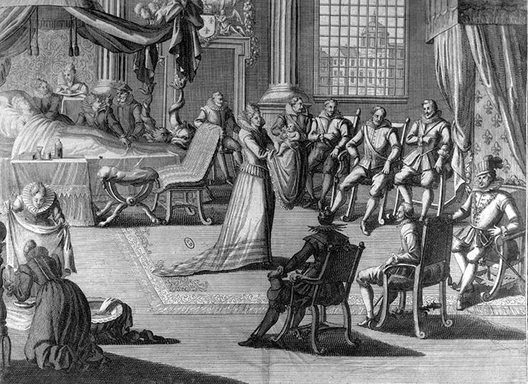 Как проходили роды королев в прошлые времена