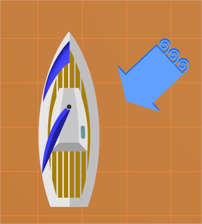 Можно ли на паруснике плыть против ветра?