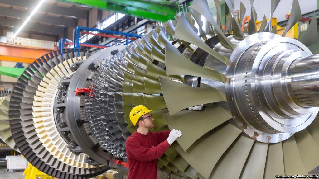 Siemens доведет локализацию выпуска турбин в РФ до 90%