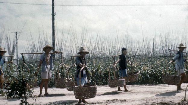 В середине XX века Китай был бедной аграрной страной