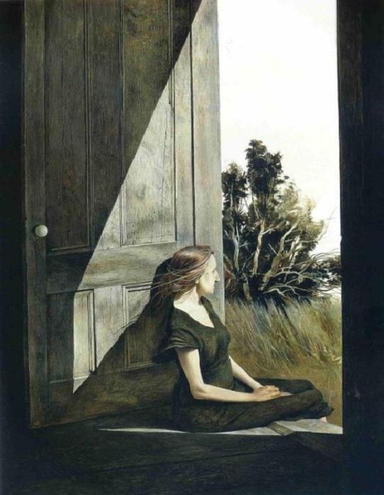 «Кристина Олсон». Автор: Эндрю Уайет.