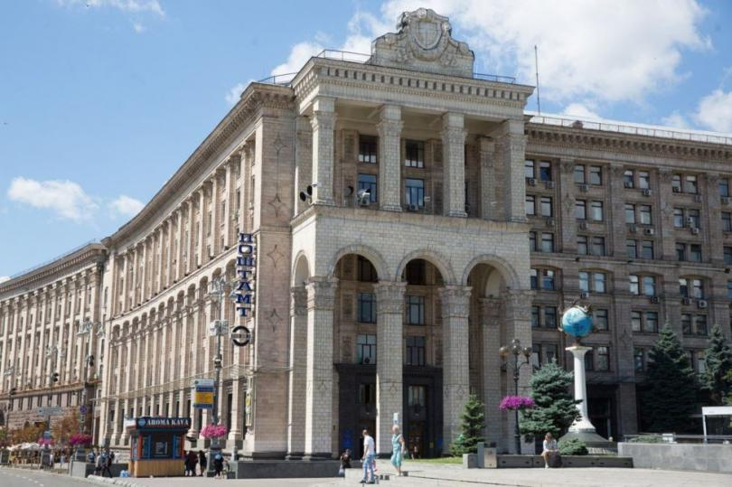 Трагедия на Крещатике. 30 лет назад рухнул фасад Главпочтамта в Киеве