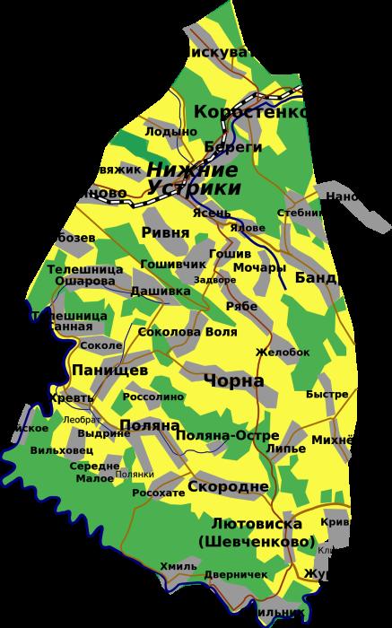 Участок, перешедший к Польше./Фото: upload.wikimedia.org