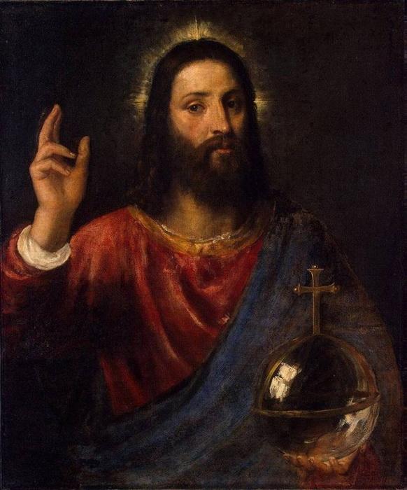 Тициан. Христос-Вседержитель