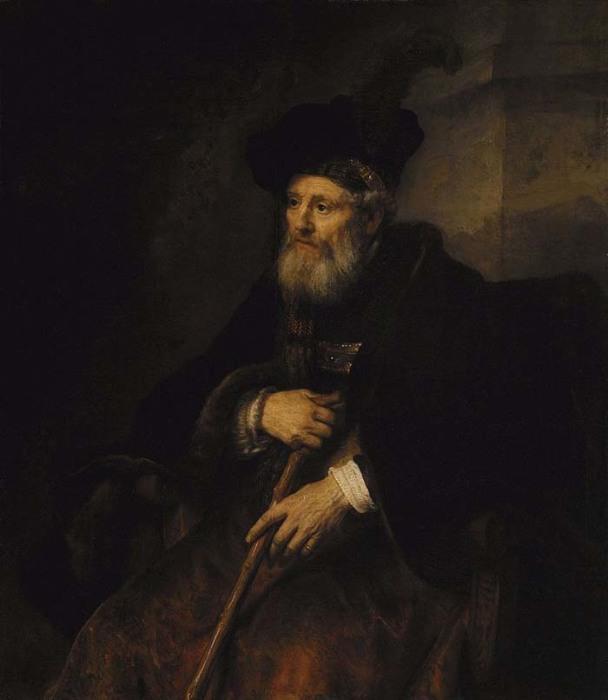 Рембрандт, «Портрет старика» (картина, проданная в 30-е годы из коллекции Эрмитажа)