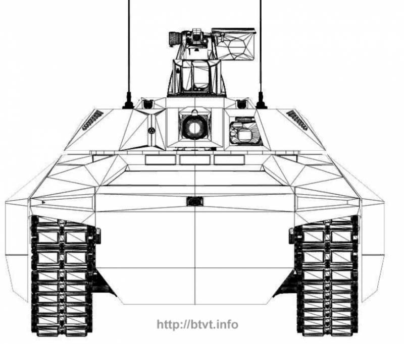 Концепт основного танка MGCS от Rheinmetall Defence