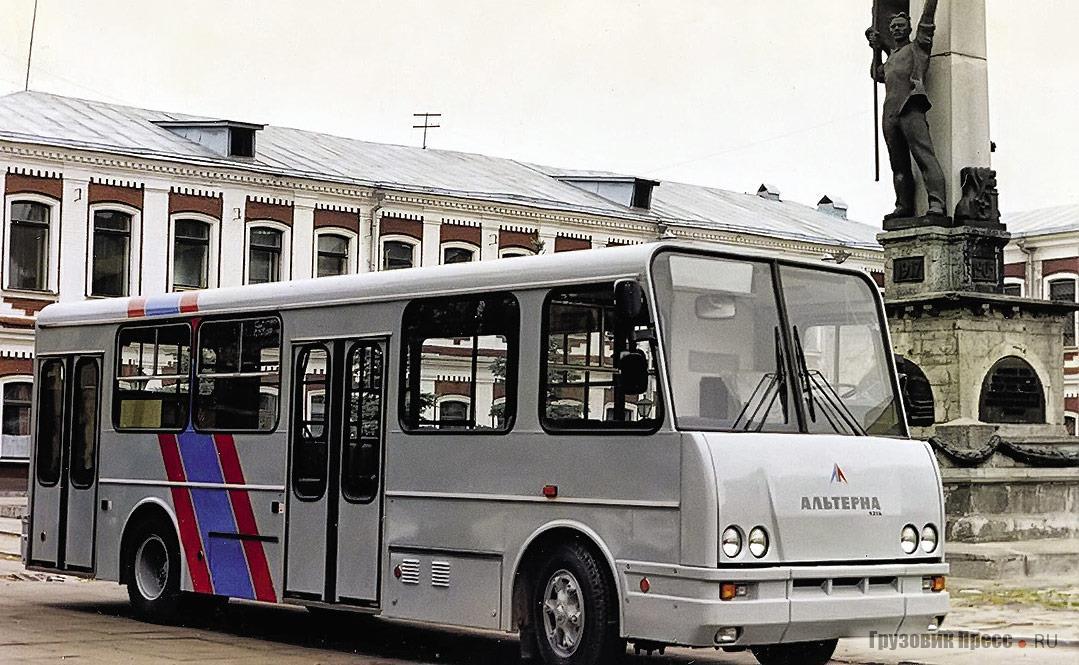 Последний автобус модели 4216 с пластиковой маской, выпущенный на АОЗТ «Альтерна»