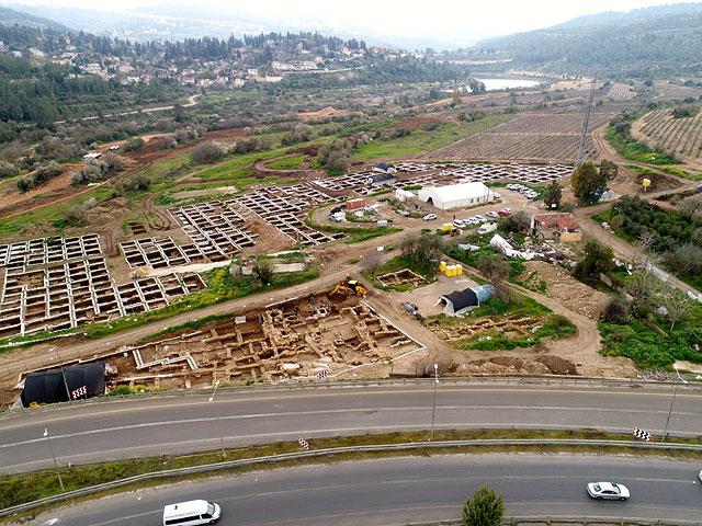 В Израиле нашли руины огромного города