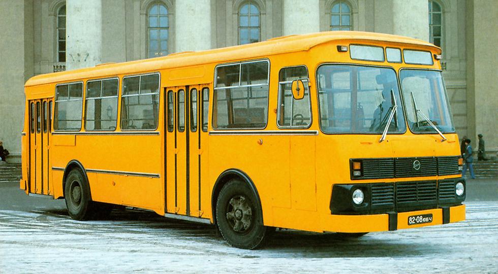 ЛиАЗ 677М предсерийный