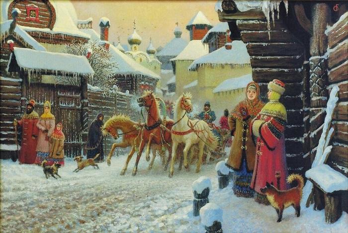Картина Бориса Ольшанского.