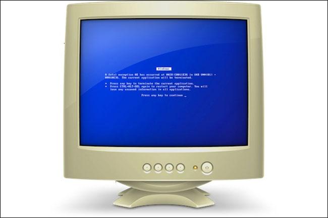 История «Синего экрана смерти» BSoD