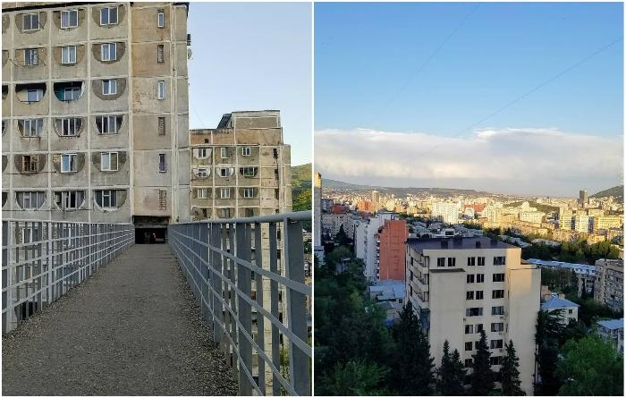 С мостов, проходящих сквозь советские панельки, открывается умопомрачительный вид на город. | Фото: gramho.com/ © cityspaces.spb 2 monts ago.