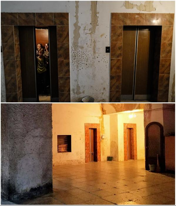 Плачевное состояние переходов, площадок и самого лифта удручает только туристов – остальные уже не замечают. | Фото: realt.onliner.by.