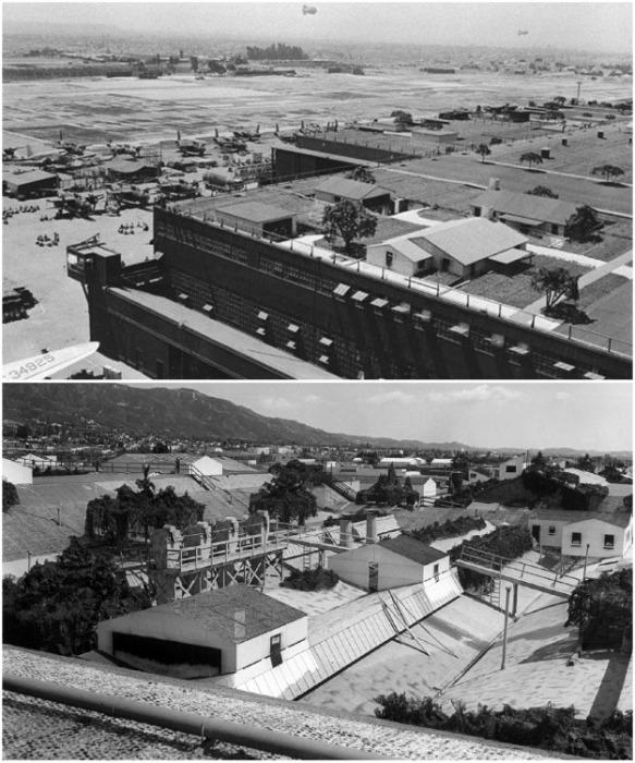 Крыши предприятий превращались в поля и небольшие города. | Фото: varlamov.ru.