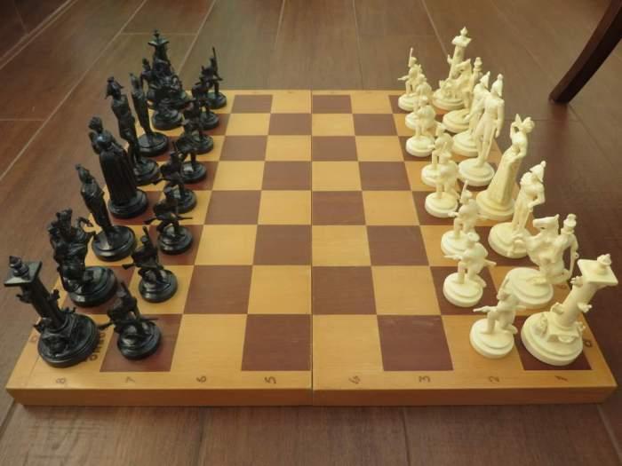 Наполеоника - редкий экземпляр советских шахмат. /Фото: skylots.org