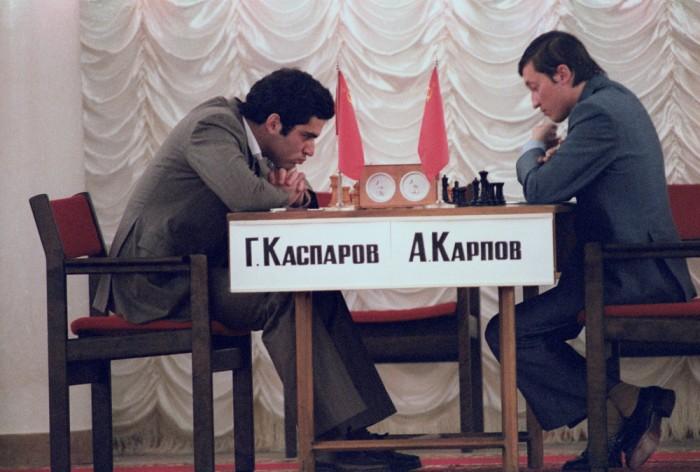 Пьедестал чемпионата мира по шахматам был прочно занят гражданами СССР. /Фото: gazeta.ru