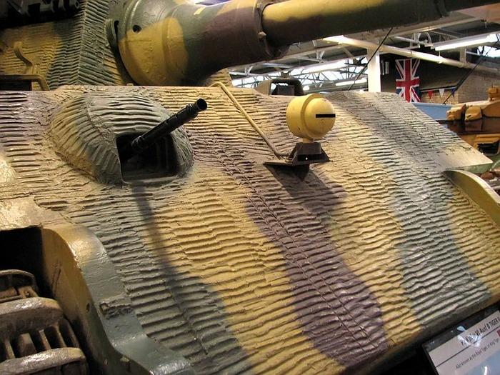 «Tигр II», обработанный циммеритом. /Фото: wikipedia.org