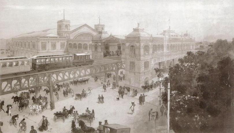 Станция у Балтийского вокзала