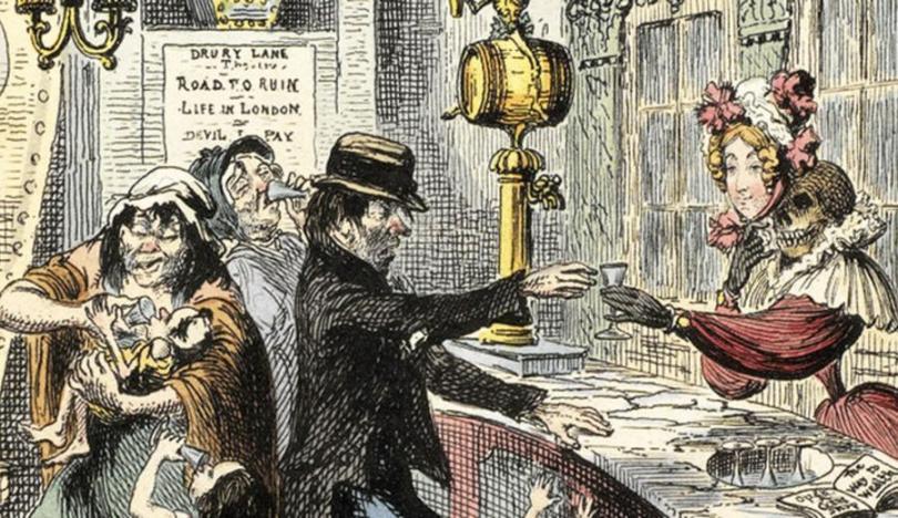 Эпидемия джина: как Лондон чуть не погубило дешевое бухло
