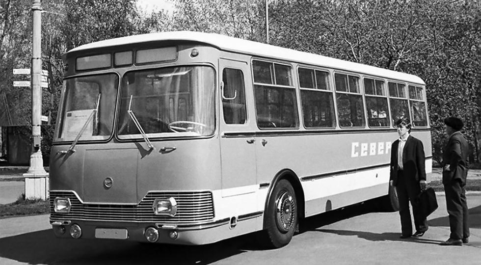ЛиАЗ 677А «Север» предсерийный