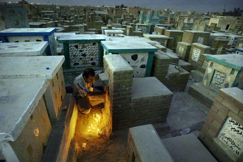 «Долина мира» - гигантское исламское кладбище