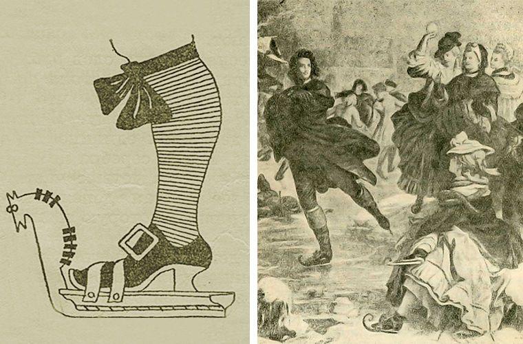 История появления коньков