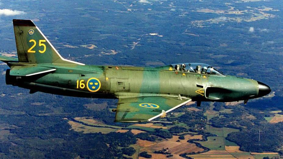 Saab 32 Lansen — один из возможных носителей шведского ядерного оружия - Неудавшаяся ковка молота Тора | Военно-исторический портал Warspot.ru