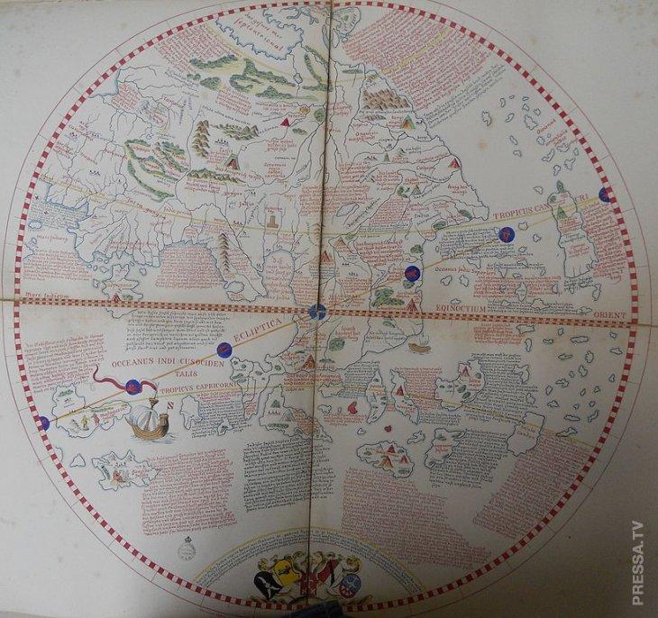Как выглядит самый старый глобус в мире