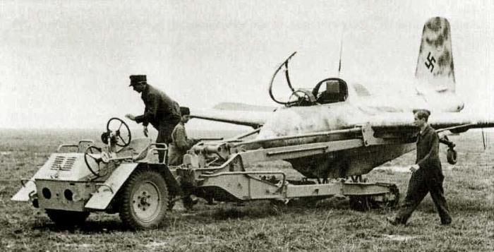 Самый маленький истребитель времен Второй мировой войны